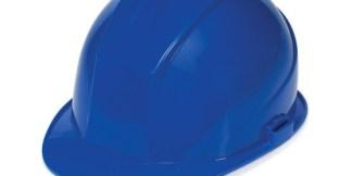 DURASHELL 6 POINT PINLOCK SUSPENSION BLUE HARD HAT