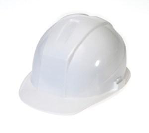 DURASHELL 6 POINT PINLOCK SUSPENSION WHITE HARD HAT