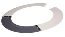 Paulson A-S4-M White Smoke ABS/Lexan® Sun Shield