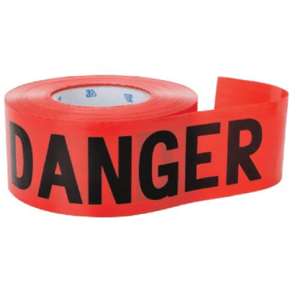 3A Safety BD-2002 Red Barricade Tape - Danger
