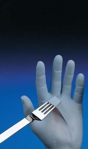 N-DEX Nitrile Gloves - N-DEX original nitrile gloves, 4-mil, powder-free