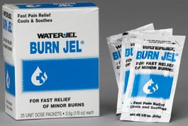Water Jel Burn Jel 1/8 oz 25/bx