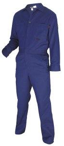 MCR CC1B Max Comfort FR 7oz Royal Blue Contractor Coveralls