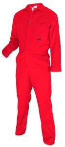MCR CC1R Max Comfort FR 7oz Red Contractor Coveralls