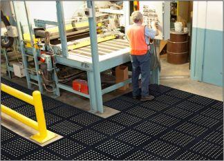 "Comfort Flow HD 18"" Modular Tile Floor Mats"