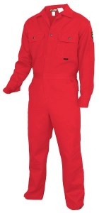 MCR DC1R Max Comfort 7oz Red FR Deluxe Coveralls