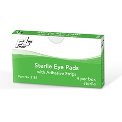 Sterile Eye Pads with Adhesive Tape 4/bx