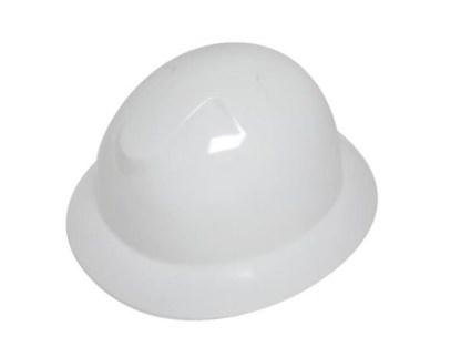 DURASHELL FULL BRIM 6 POINT PINLOCK SUSPENSION WHITE HARD HAT