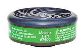 Moldex 7400 Ammonia / Methylamine Cartridges