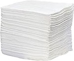 "P100 Oil Only Sorbent Pads (Heavy-Weight), 15"" x 17"", 100/CASE"