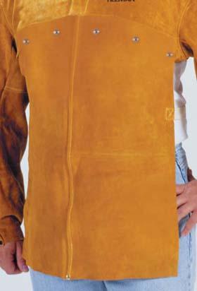 John Tillman 3114 14'' Side-split cowhide Leather Bib