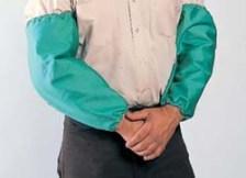 "John Tillman 6218 Flame-Retardant Cotton Bib and Sleeves  18"" Length"