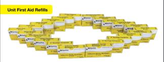 ProStat 2814 Bandage Fingertip, Woven 8 per Box