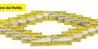ProStat 2279 Gauze Bandage 2 in x 6 yd, 2 per box