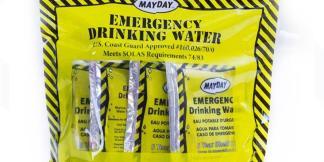 Emergency Food & Water Supplies
