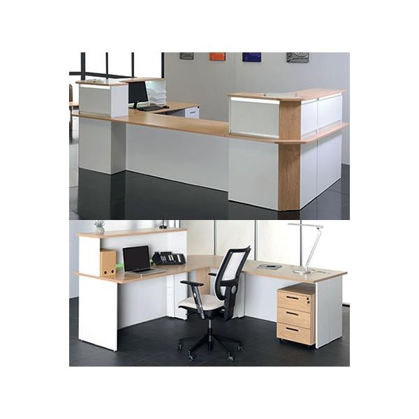 bureau d accueil confort 80x80 cm