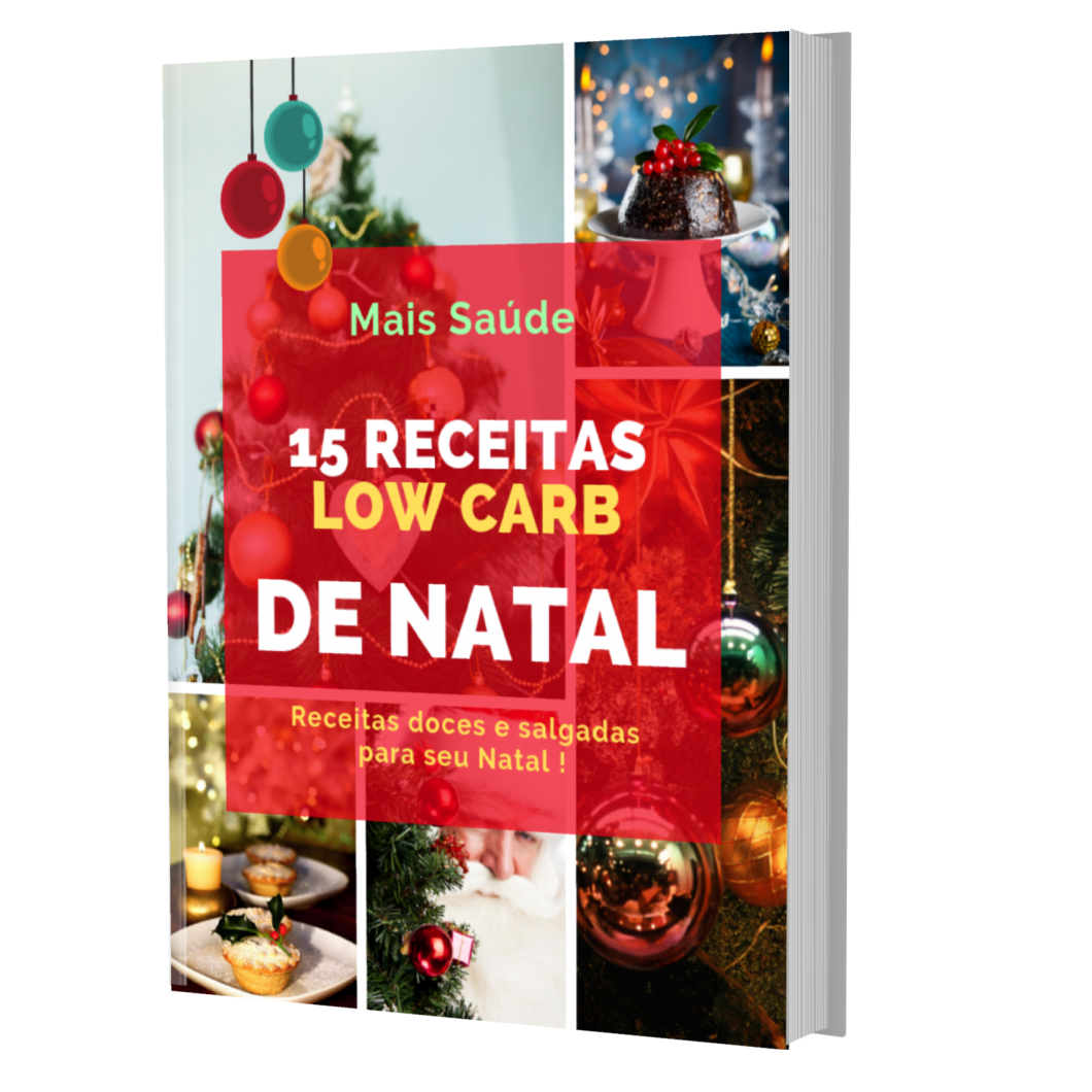 15 receitas low carb de natal