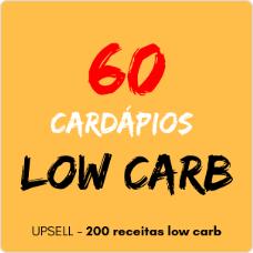 60 cardápios low carb