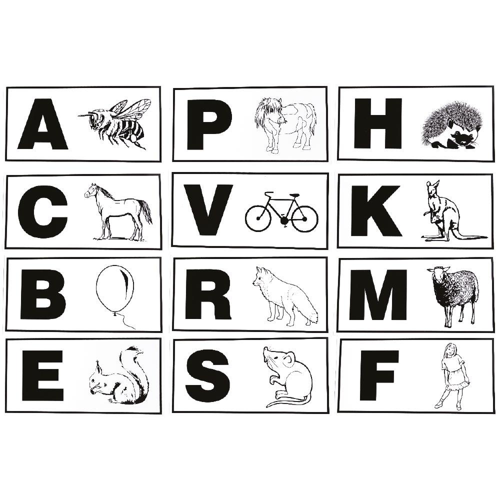 jeu de 12 lettres de manege enfants