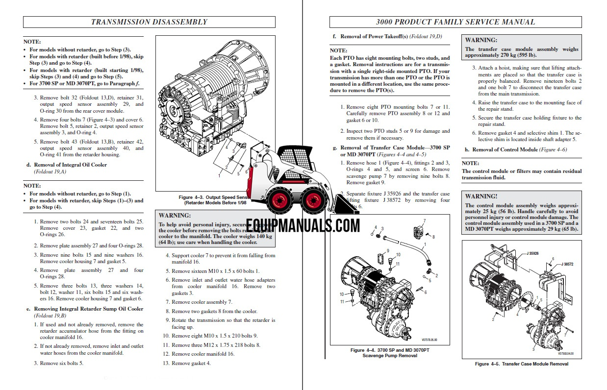 Allison Series Transmission Service Manual