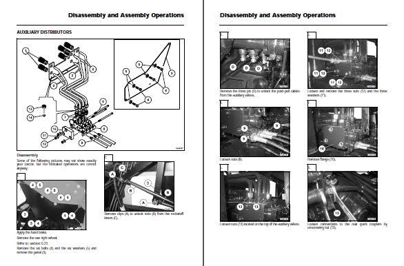 massey ferguson 7280  7282 centora combine repair manual