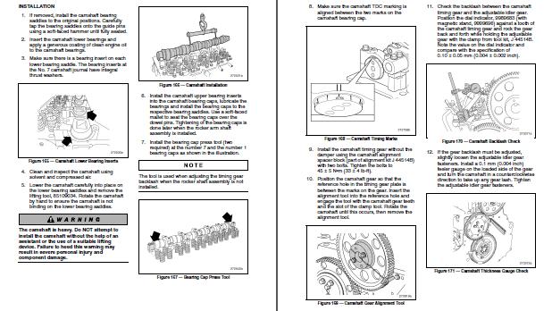 mack mp8 diesel engine epa07 service manual