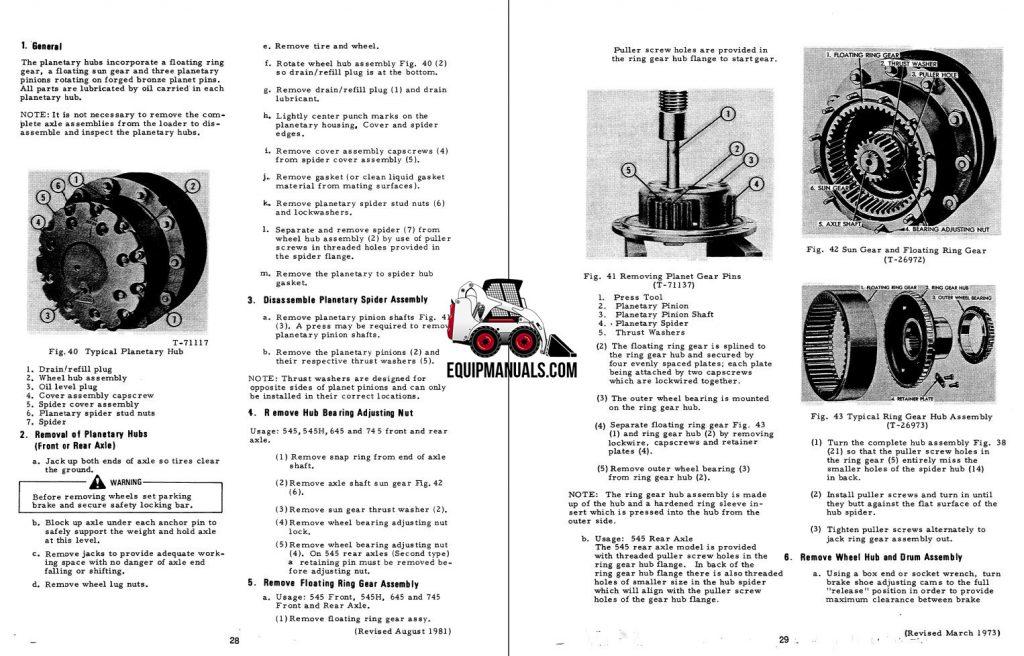 Fiat Allis FR15B Wheel Loader Service Manual