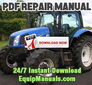 New Holland TN65F, TN70F, TN75F, TN80F, TN90F, TN95F Tractor Service