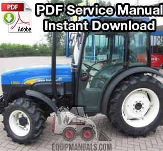 New Holland TS90, TS100, TS110 Tractor Service Manual - EquipManuals com