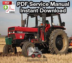 Case IH 585, 685, 595, 695 Tractor Service Manual
