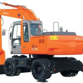 Hitachi Zaxis 160W Excavator Workshop Manual