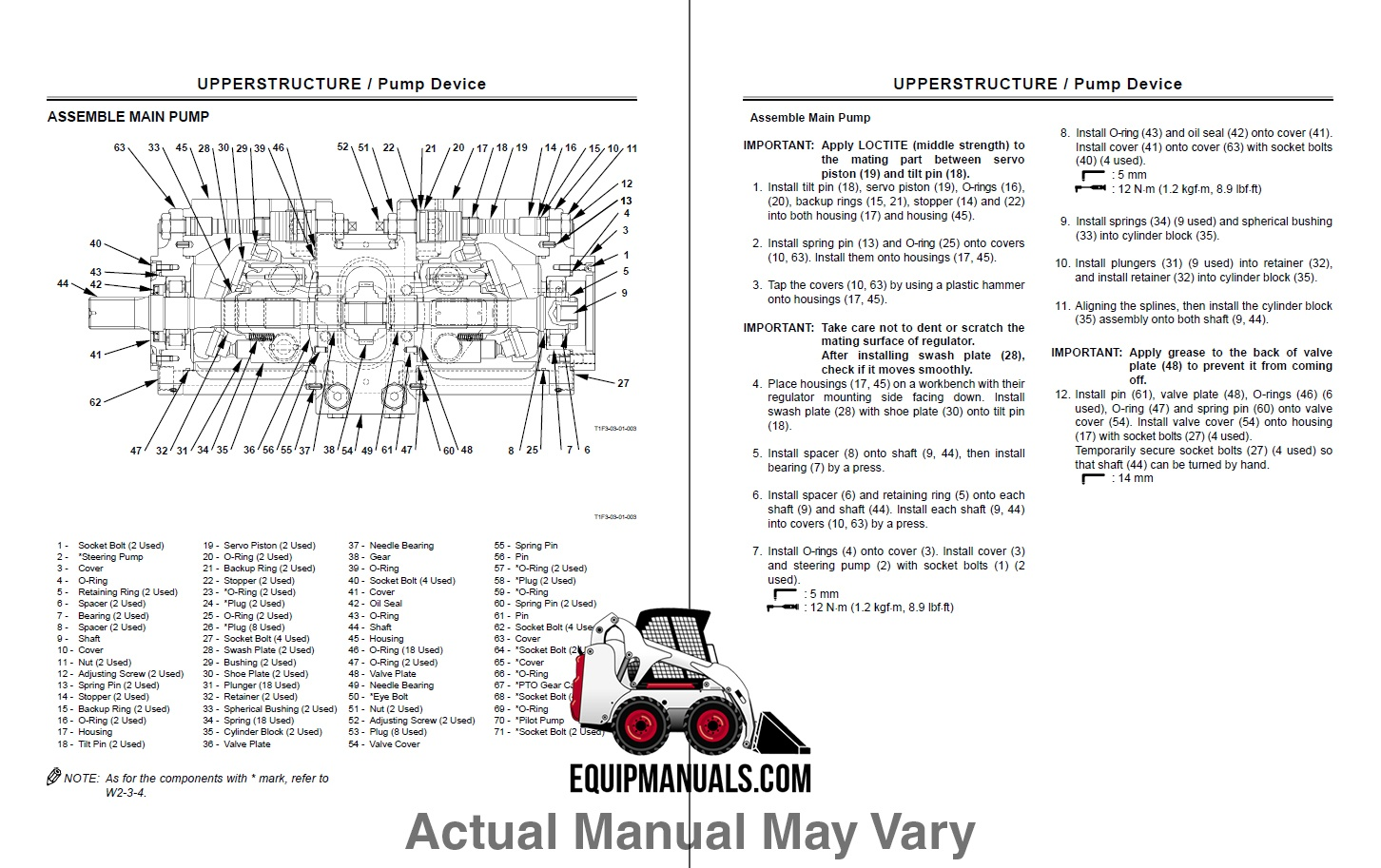Hitachi Zaxis 130W Excavator Workshop Manual