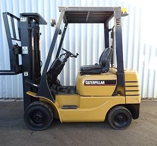 Caterpillar DP20, DP25, DP30, DP35 Forklift Service Manual