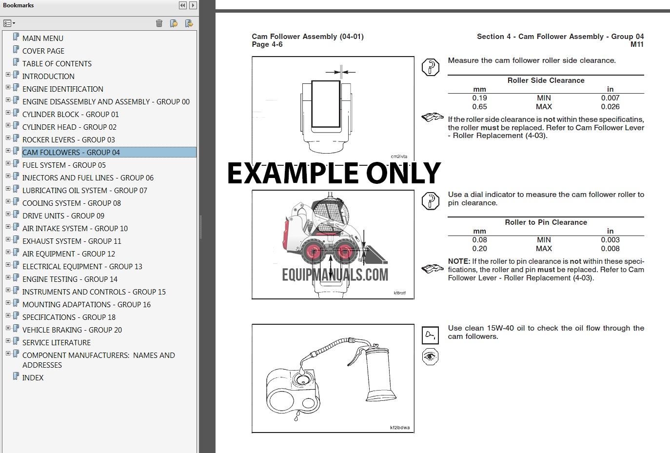 Perkins 854F-E34TA Engine Complete Service Manual