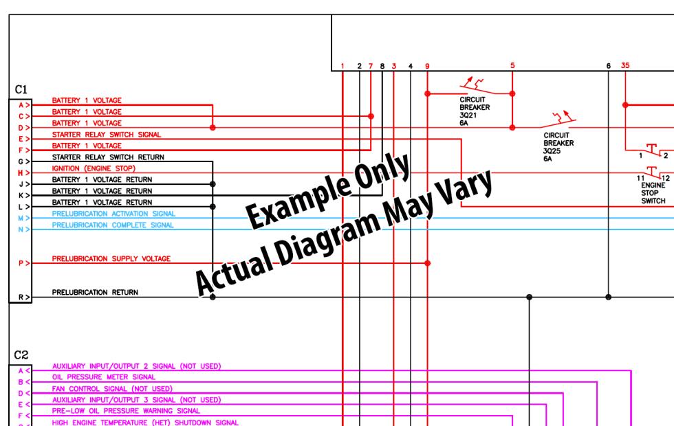 2010 International MaxxForce 11, 13 Engine Wiring Diagram