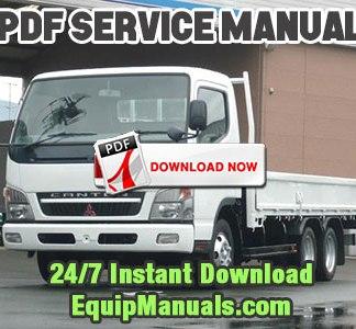 service manual mitsubishi fuso