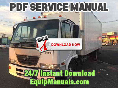 1999-2003 Nissan UD3300 Truck Service Manual