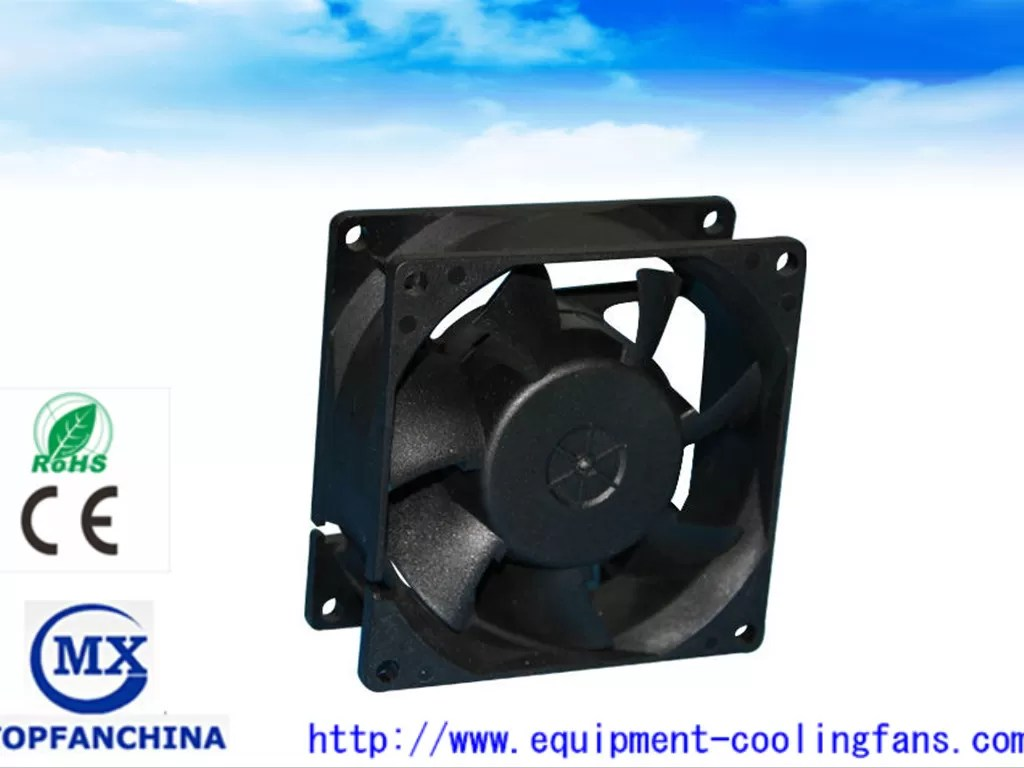 ball bearing explosion proof exhaust fan 48 volt dc small cooling fan for electronics