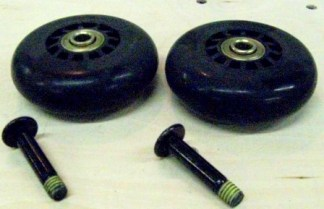 Wilson TagAlong 2-wheels with axle per kit  09-041AB-set