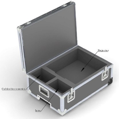 Ready to Ship_TravelMate-Projector or Mixer Case DP50-670