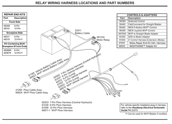 western plow wiring diagram 6 wire  plymouth lights wiring