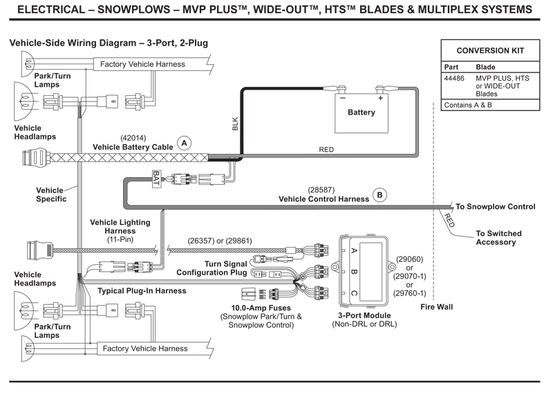 western_vehicle_side_wiring_diagram_3_port_2_plug ford boss plow wiring diagram ford wiring diagram instructions boss plow diagram at edmiracle.co