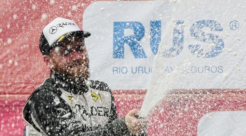 T.C. Pista : Marcelo Agrelo podio y lìder de Campeonato.