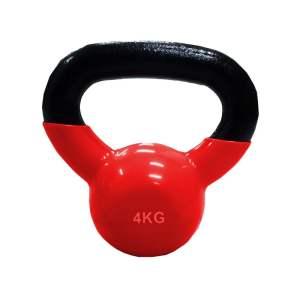 Mancuerna Pesa Rusa 4kg Kettlebell Encauchetada Gym