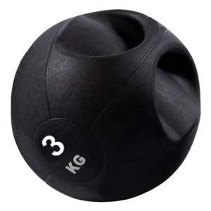 Balon Medicinal Crossfit 3 Kg con Agarre Fitness Gimnasio