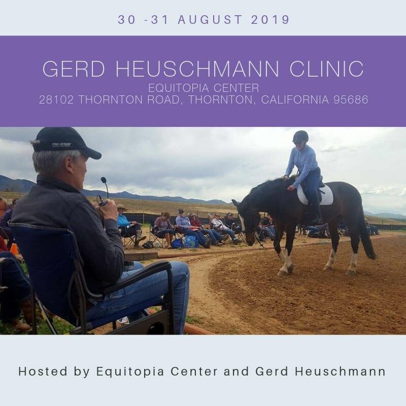 Gerd Heuschmann clinic with Equitopia