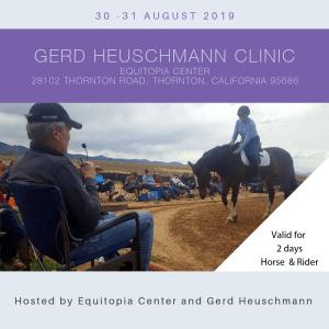 Gerd Heuschmann Clinic Horse and Rider Equitopia