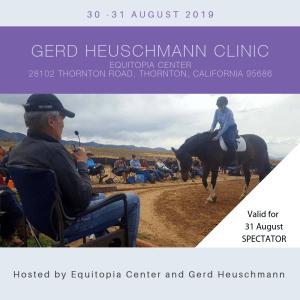 Gerd Heuschmann clinic Equitopia