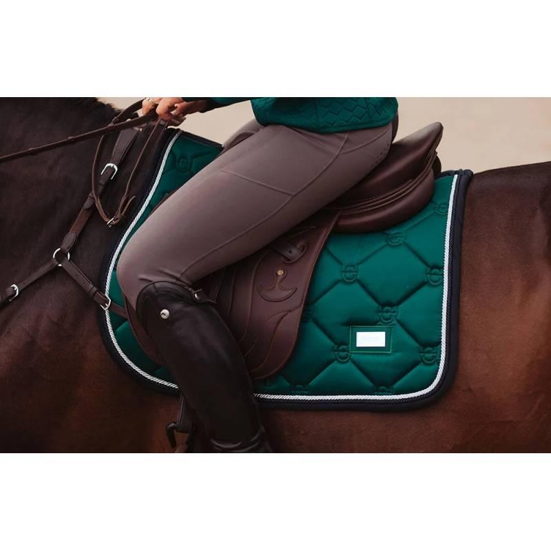 tapis de selle equestrian stockholm emerald