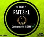 Raft equity crowdfunding successo Opstart